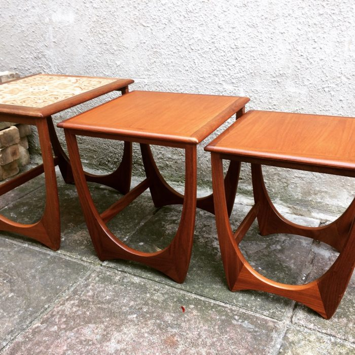 G Plan Vintage Coffee Tables: Retro G Plan Nest Of Tables