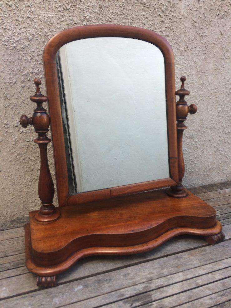 Large Edwardian Swing / Dressing Table Mirror