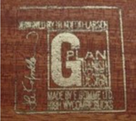 G-Plan Danish Label