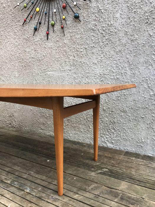Mid Century Gordon Russell Teak Coffee Table Long John