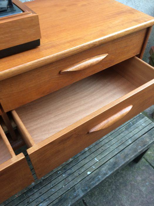 Vintage Retro Austin Suite Teak Danish Style Small Sideboard