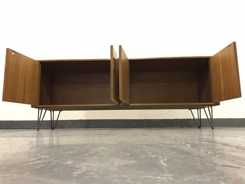 Vintage 1970s G-Plan Teak Sideboard Cabinet on Hairpin Legs