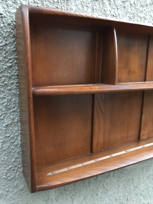 Mid Century Ercol Windsor Wall Mounted Shelf