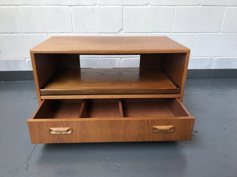 Retro G Plan TV Media Hifi Unit Side Coffee Teak