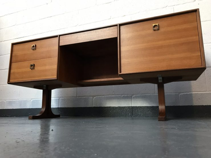 Stunning 1970s G Plan E Gomme Form 5 Desk / Dressing Table