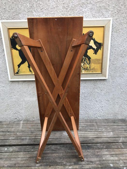 Retro Danish Style Blonde Wood Coffee Table