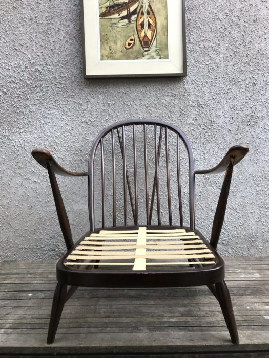 Classic Mid Century Ercol Easy Chair Windsor 203
