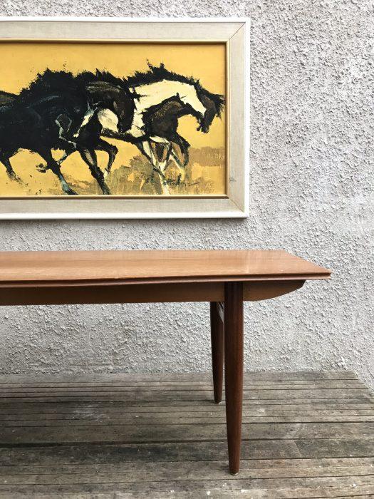 Vintage Retro Gordon Russell Style Teak Coffee Table