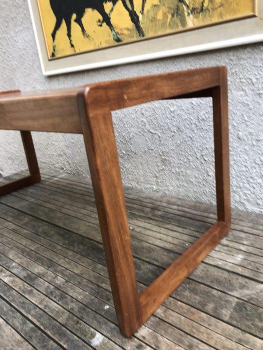 Retro Teak Coffee Table G Plan Style Quadrille Legs Macintosh Style?