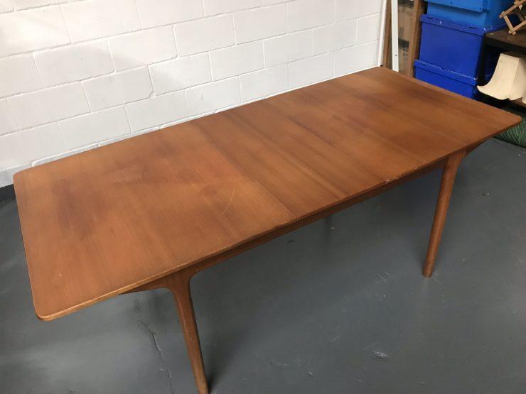 Vintage Mcintosh Teak Dining Table 1960s T3
