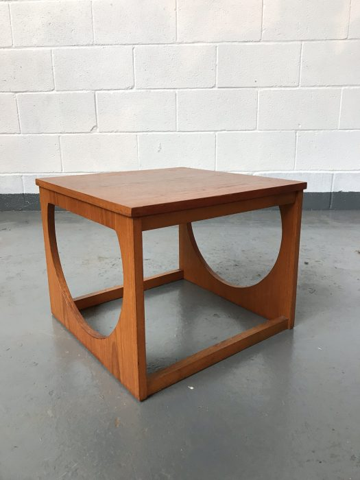 Stunning Danish Style Mid Century Nest Of Tables Retro Side Tables Scandinavian