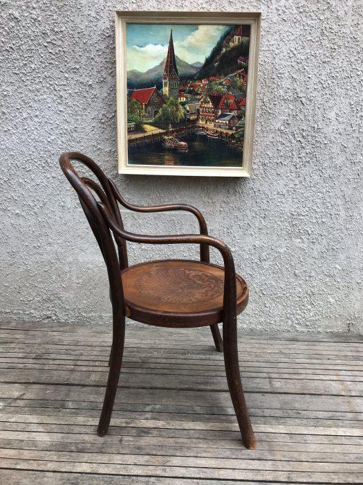 Genuine Vintage Child's Bentwood Armchair