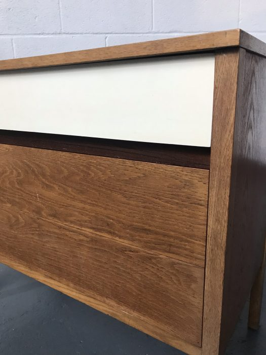 Mid Century 1960s G Plan Young Idea Oak Chest Of Drawers