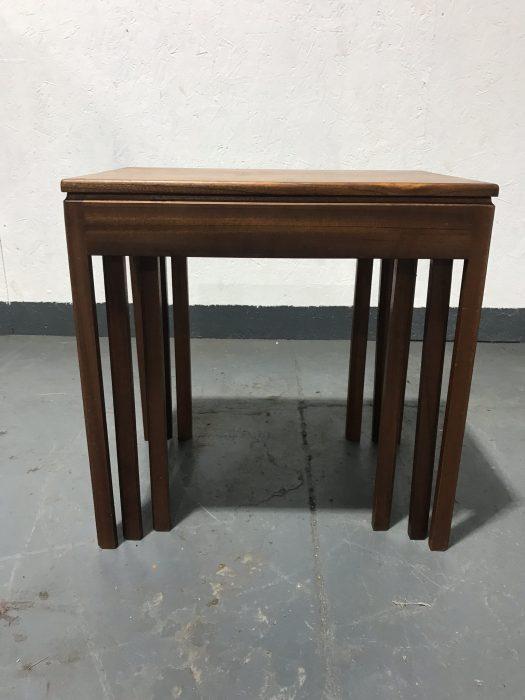 Retro 1970s Teak Nest Of Tables By McINTOSH