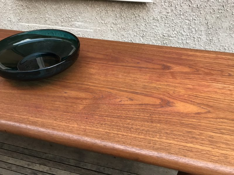1960s Johannes Andersen Teak Coffee Table For SILKEBORG