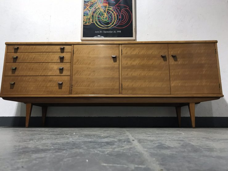 Vintage Mid Century AFRED COX for Heals Walnut Sideboard