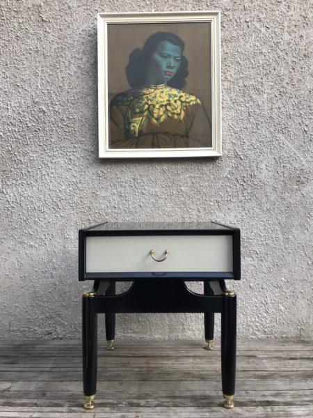 Single Vintage 1960s G-PLAN LIBRENZA Bedside Cabinet