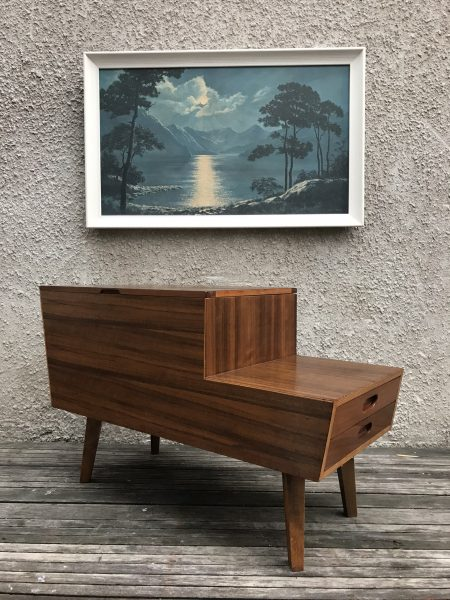 1950s Mid Century VANSON Double Layered Sewing Box