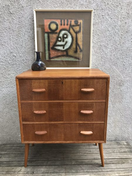 Mid Century Vintage HUNT Chest of Drawers