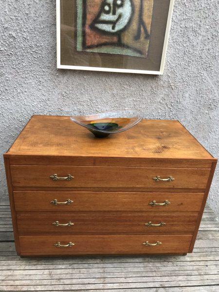 Vintage Oak Plans Chest