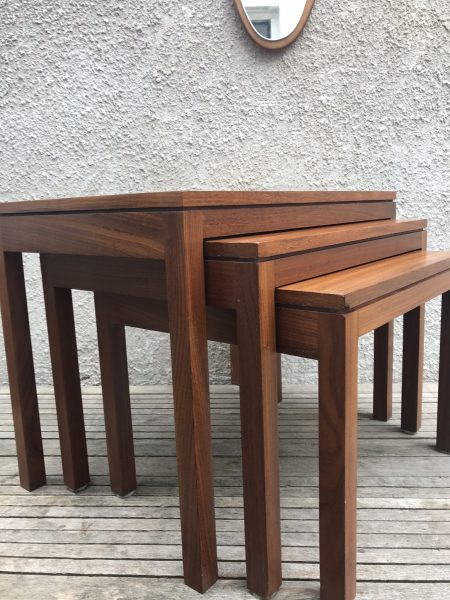 Retro Nest of Tables - Remploy
