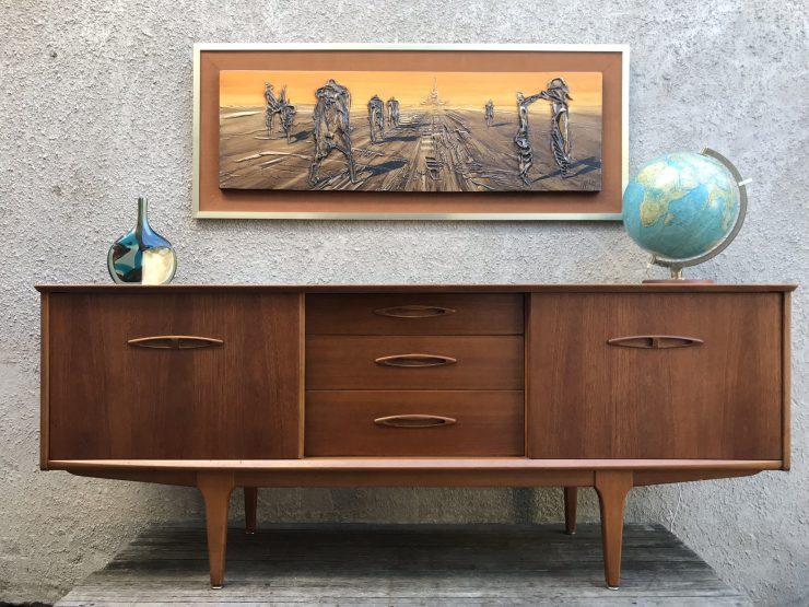 Vintage Retro 1960s JENTIQUE Teak Sideboard