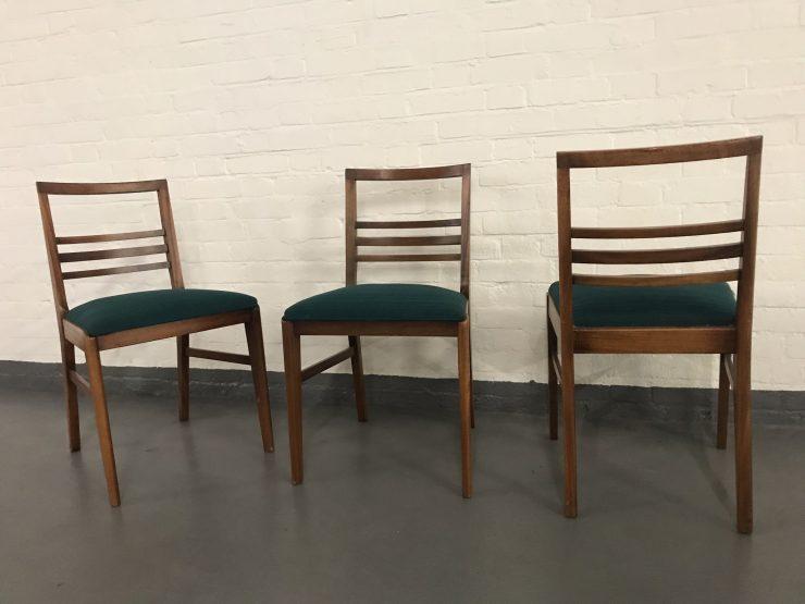 Mid Century Vintage Retro Teak Danish Dining Chairs
