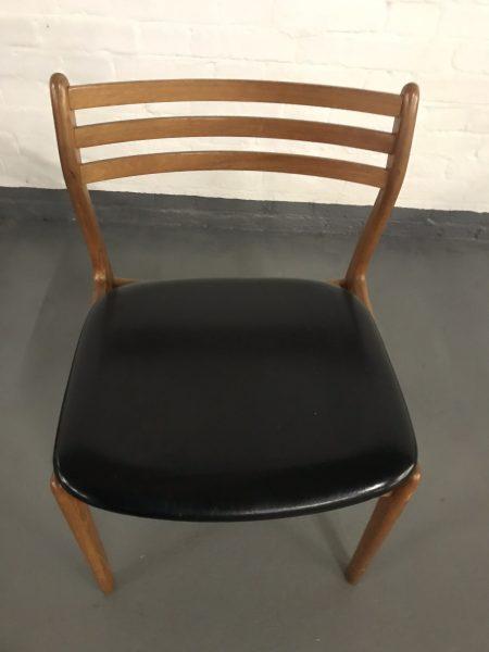 Mid Century Teak Danish / G Plan Style Dining Chairs 1960's