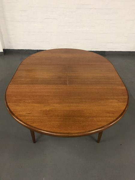 Mid Century G PLAN FRESCO Dining Table and 4 Kofod Larsen Dining Chairs