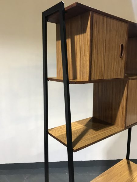 Vintage 3 Tier Shelving / Storage / Bookcase / Wall Unit / Room Divider