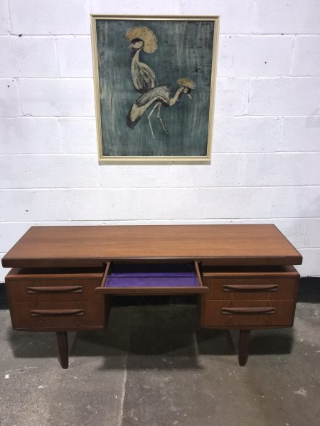 Mid Century G PLAN Floating Top Desk / Dressing Table with Mirror