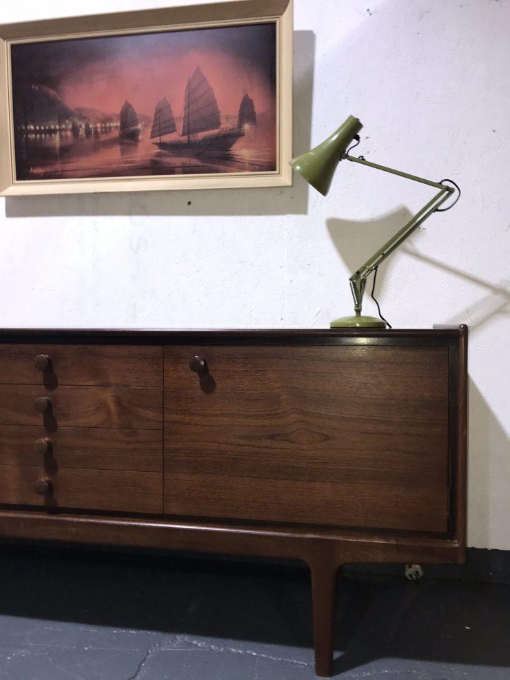 Vintage Mid Century Teak Sideboard / Credenza by VANSON for Heals