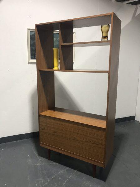 Vintage SCHREIBER Wall Unit Bookcase Sideboard Room Divider TV Media Unit Retro