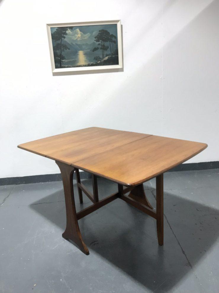 Vintage G Plan Teak Dropleaf / Gate-leg Dining Table