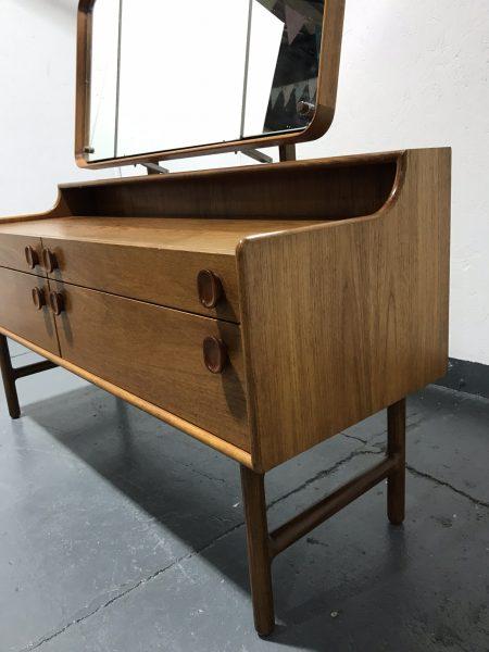 Vintage Retro Mid Century Dressing Table / Desk / Sideboard