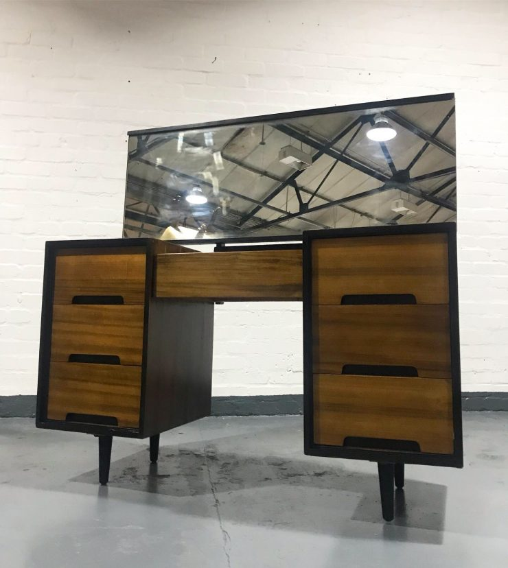 Vintage Mid Century STAG Dressing Table / Desk