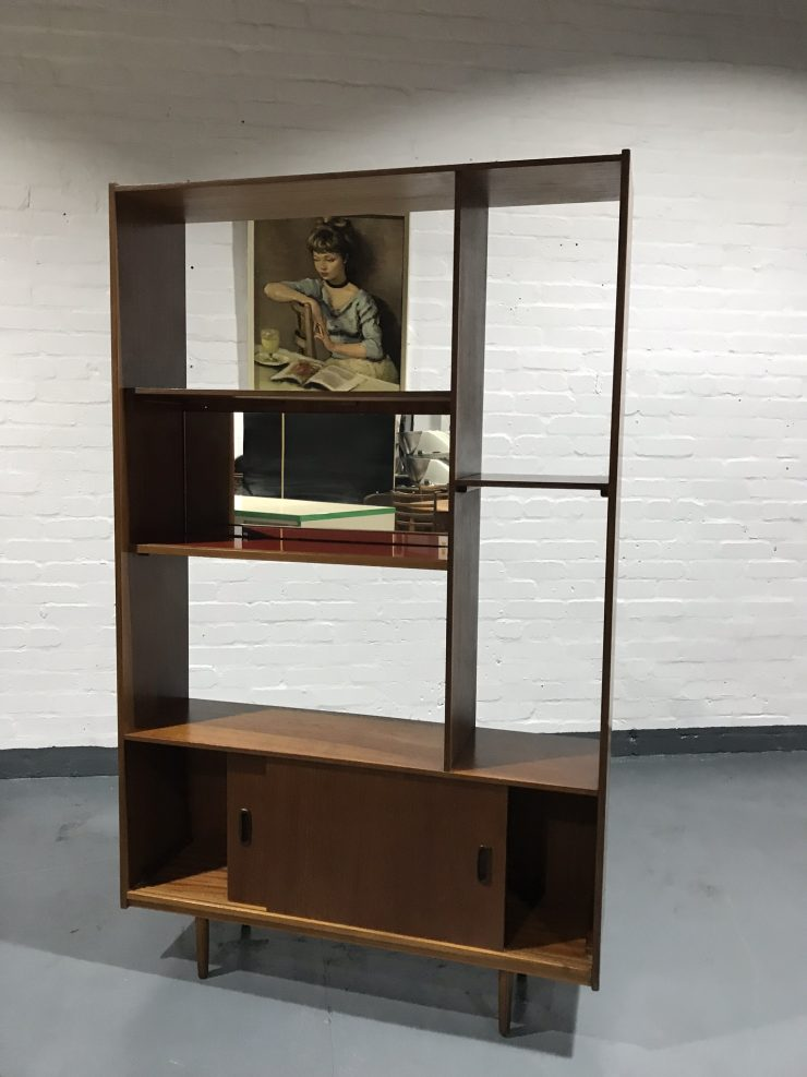 Vintage SCHREIBER Wall Unit Bookcase Room Divider