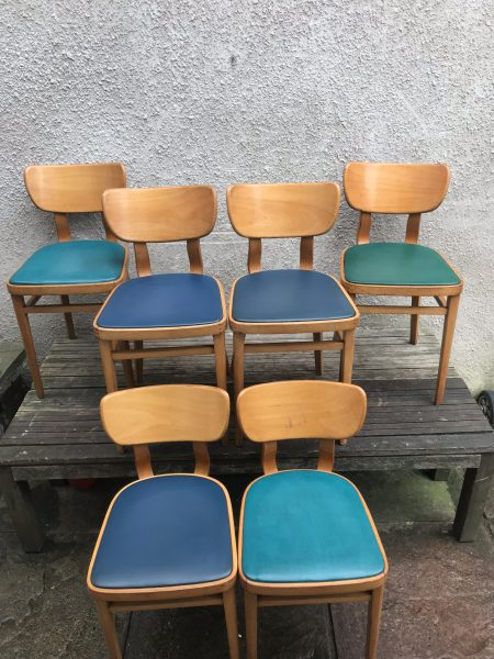 Vintage Mid Century Bentwood BEN CHAIRS - Cafe / Coffee Shop / Dining / Kitchen