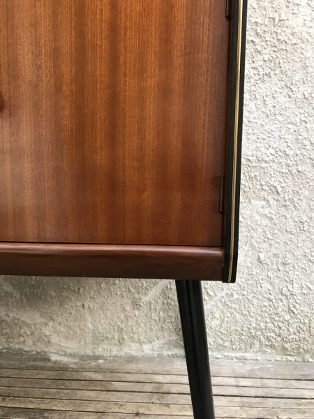 Mid Century Vinyl Record Storage / Cabinet on Atomic Style Legs