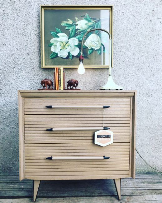 Vintage 1950s LEBUS 'LINK' Chest of Drawers