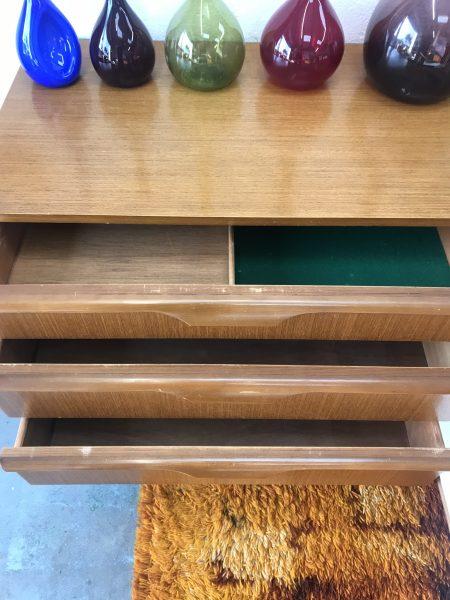 Retro Vintage 1970s Sideboard / Cabinet / Media Cabinet