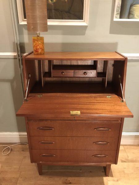Vintage Mid Century JENTIQUE Bureau Desk Drawers