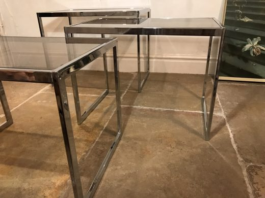 1970s Mid Century Vintage Howard Miller MDA Nest of Tables