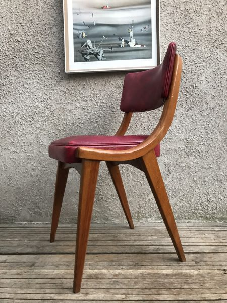 Mid Century 1960s Vintage 6 x Stoe Ben Chair Dining Chairs