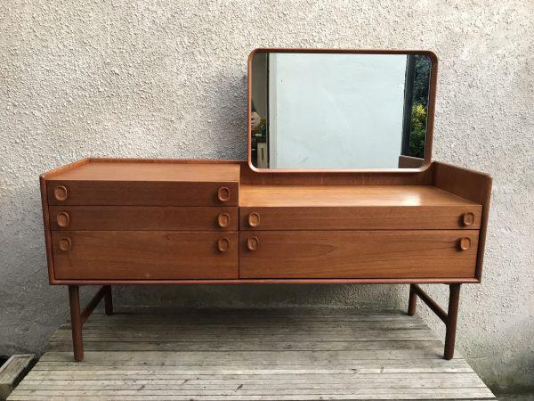 Vintage Mid Century Meredew Dressing Table / Desk / Sideboard