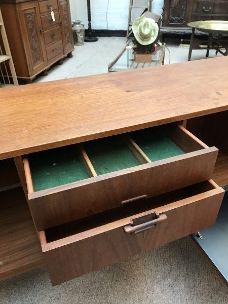 Large Mid Century 1960s NATHAN 'Corinthian' Teak Sideboard