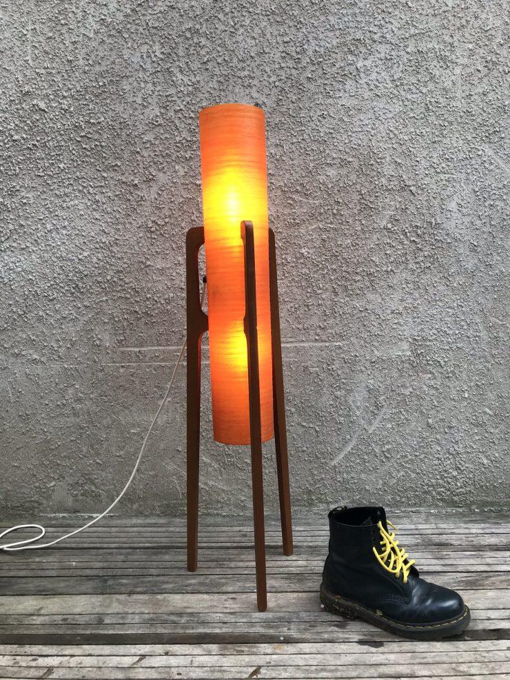 Mid Century Atomic Style 'Rocket' Floor Lamp