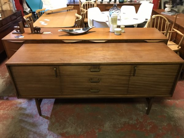 Beautiful Mid Century Teak Danish Style Sideboard by William Lawrence Furniture