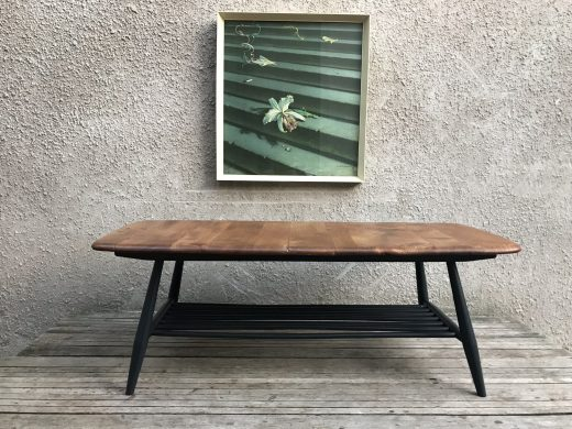 Mid Century ERCOL Occasional Coffee Table with Magazine Rack