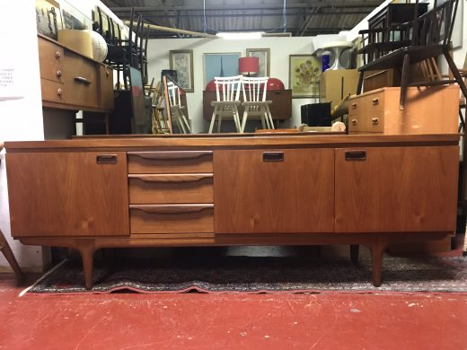 Mid Century 1960s GREAVES & THOMAS Teak Sideboard / Credenza